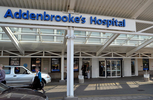 working with Addenbrookes Hospital